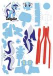 Colgate Papercraft Pattern
