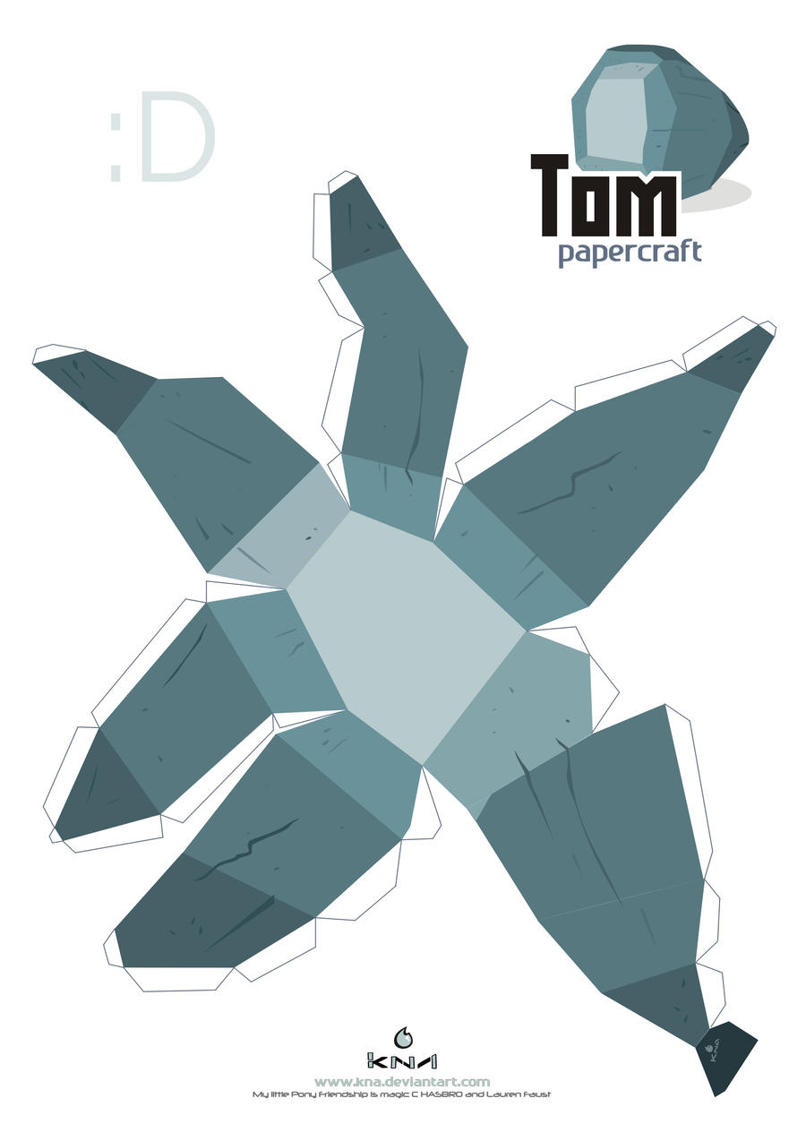 Tom Papercraft pattern by Kna