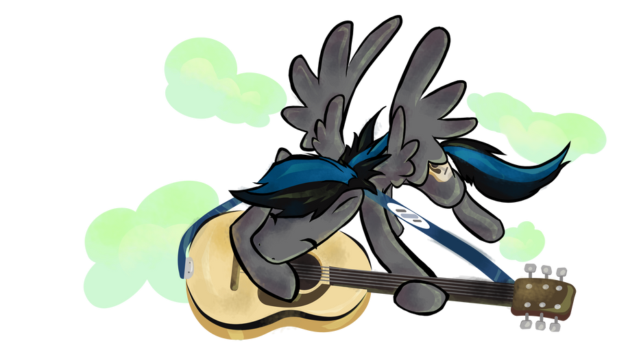 Sound Wave Pony Oc Commission by Kna