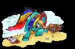 Bird Of Paradise OC Commission