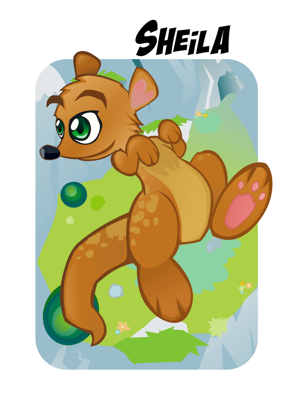 Sheila the Kangaroo by Kna