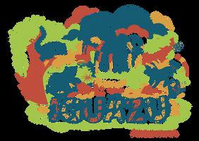 IGUAZU T-shirt Design 4 colors by Kna