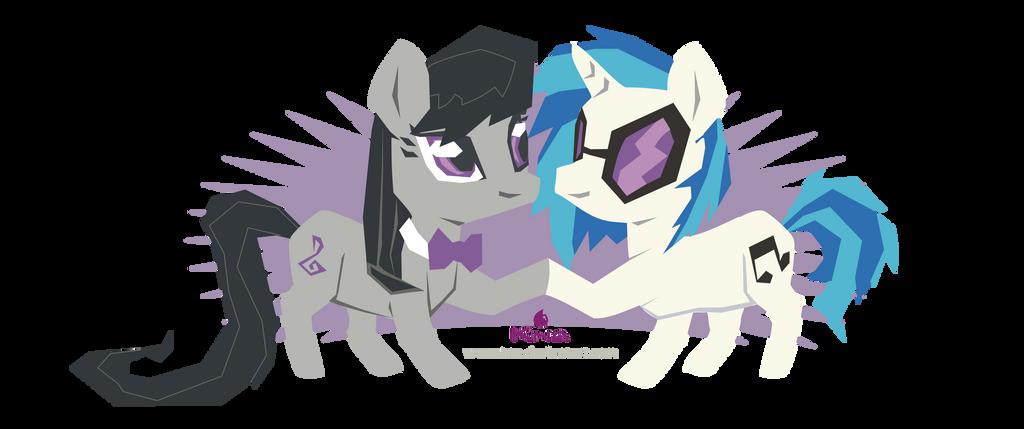 Vynil and Octavia by Kna