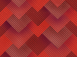 Square Red Scales by Kna