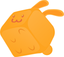 Square Rabbit by Kna
