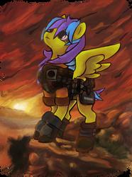 Tez  OC of Fallout Equestria Commission