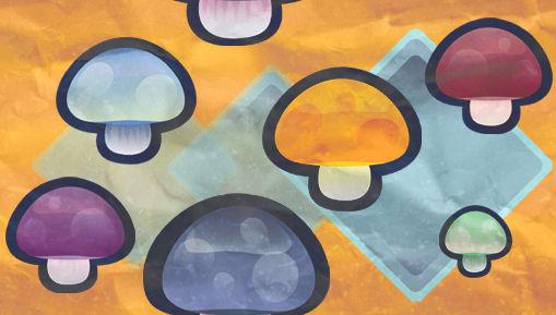 Mushroom Tile Wallpaper