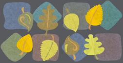 Leave the leaves tile wallpaper seamless v1 by Kna