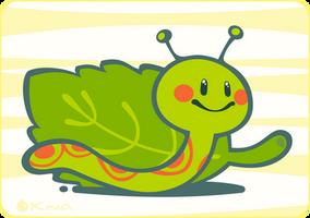 Tiny Worm by Kna