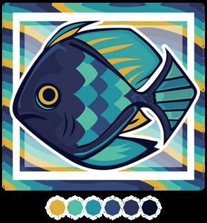Hexacolored Fish