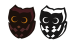 Owl for wood design by Kna