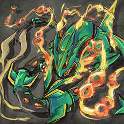 n384 - Rayquaza by Kna