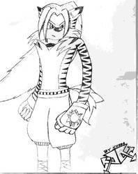 Seaba The White Tiger