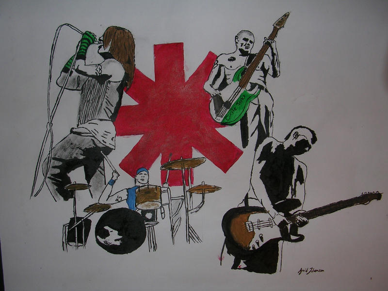 Red Hot Chili Peppers1 by JorR3ZzoN