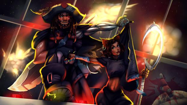 The King and Katsu, the Saboteur