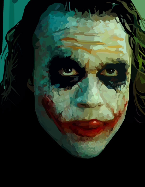 The Joker by musicisnotmisery