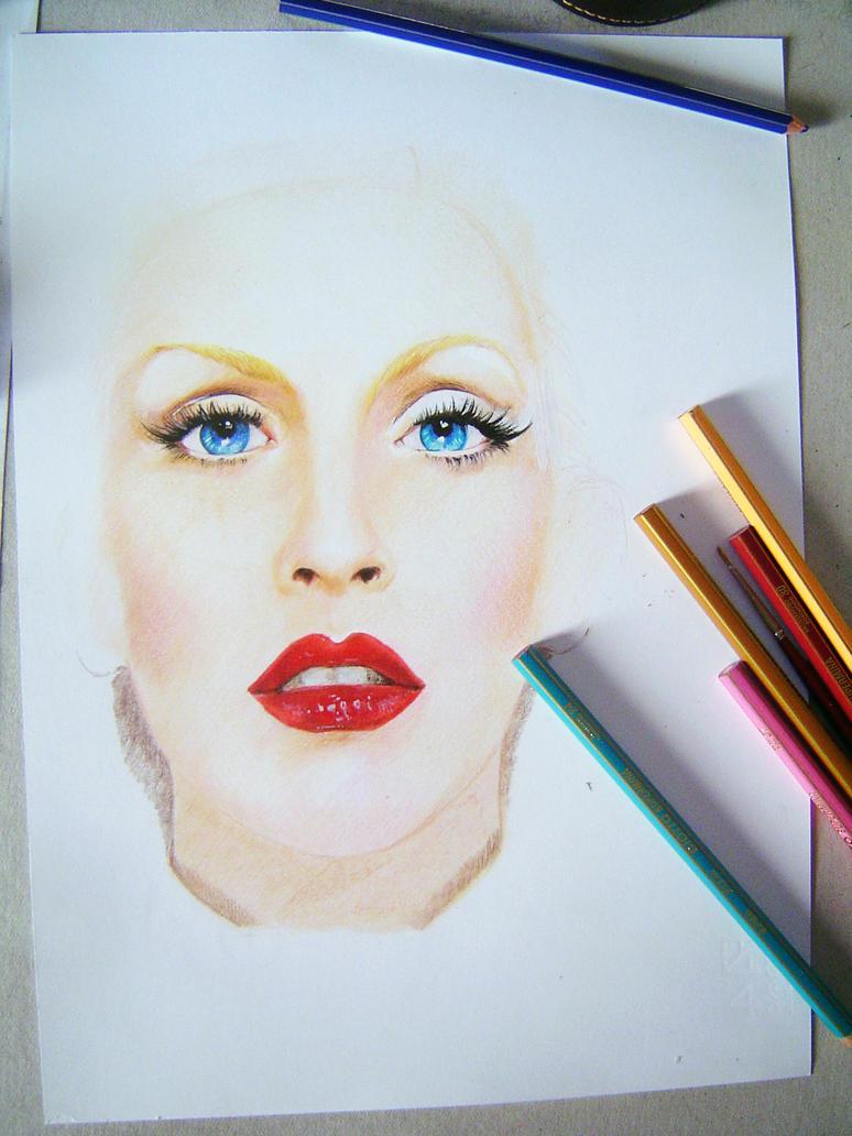 Christina Aguilera (Step 1) by iViziDiManola
