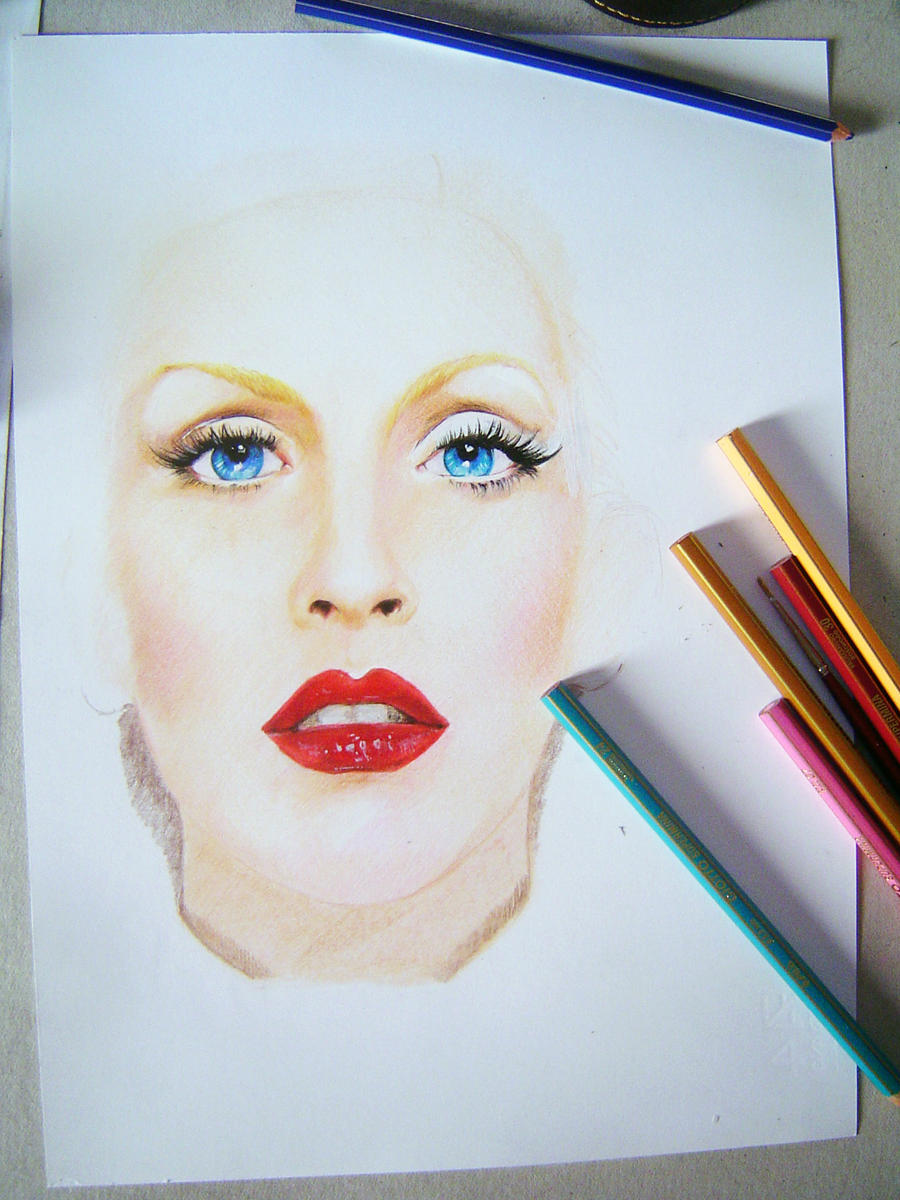 Christina Aguilera (Step 1) by iViziDiManola