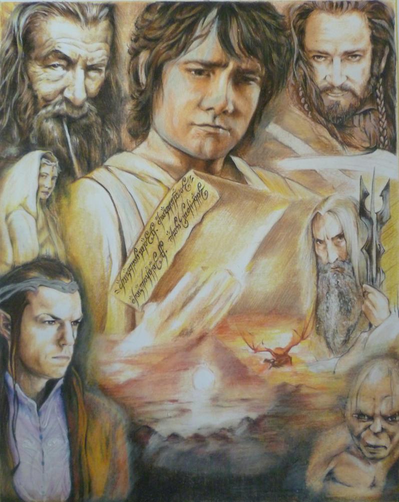 The.Hobbit.Theme.WIP by iViziDiManola