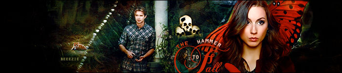 The Hammer to Fall banner