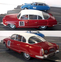 Tatra 603 slot car by FesterBZombie