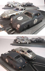 1/32 Porsche 356 slot cars by FesterBZombie