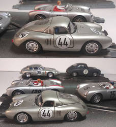 Porsche 550 Coupe resin bodied slot car by FesterBZombie