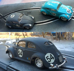 VW Beetle Slot cars 1/32 by FesterBZombie