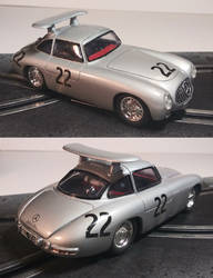 Mercedes 300SL prototipo slot car by FesterBZombie