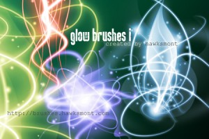 Glow Brushes by illustratorcs6