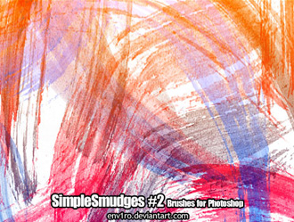 simple smudges photoshop brushes by illustratorcs6