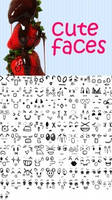 cute faces brushes