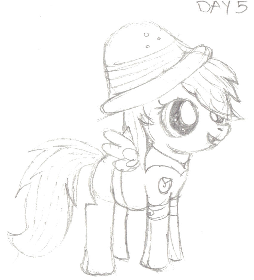 My Little Pony Coloring Pages Daring Do : My little pony daring do coloring fun pages
