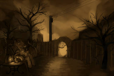 Evening Gloom by Boiler3