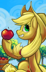 Applejack Print by Boiler3