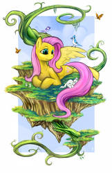 Fluttershy Print by Boiler3