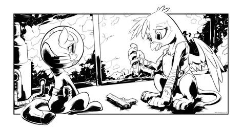 Fallout Book Pink Eyes Ch6 Preview by Boiler3