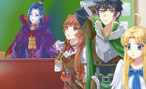 Isekai Quartet-new friends2