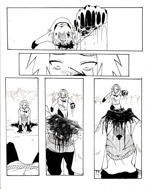 Naruto: Zombie apocalypse: Death of Sakura - 9GAG