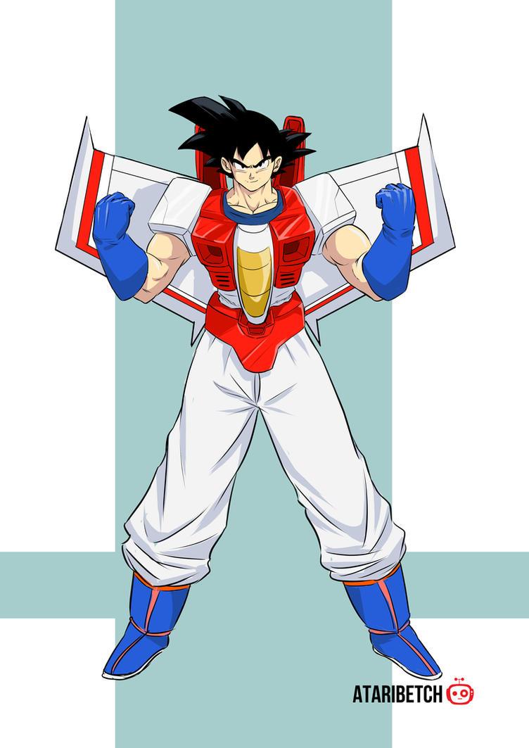 Goku-Starscream DBZTF Fusion by AtariBetch