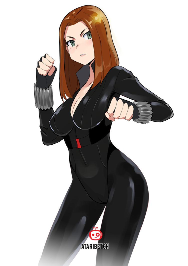 Black Widow (MARVEL) fan art by AtariBetch