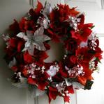 Poinsetta Wreath by Lyrak