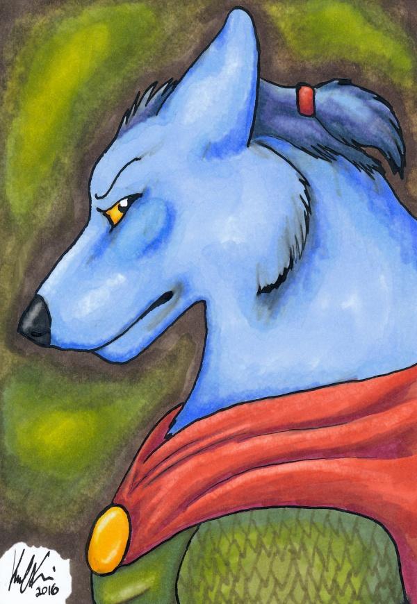 Wolf Warrior by Lyrak