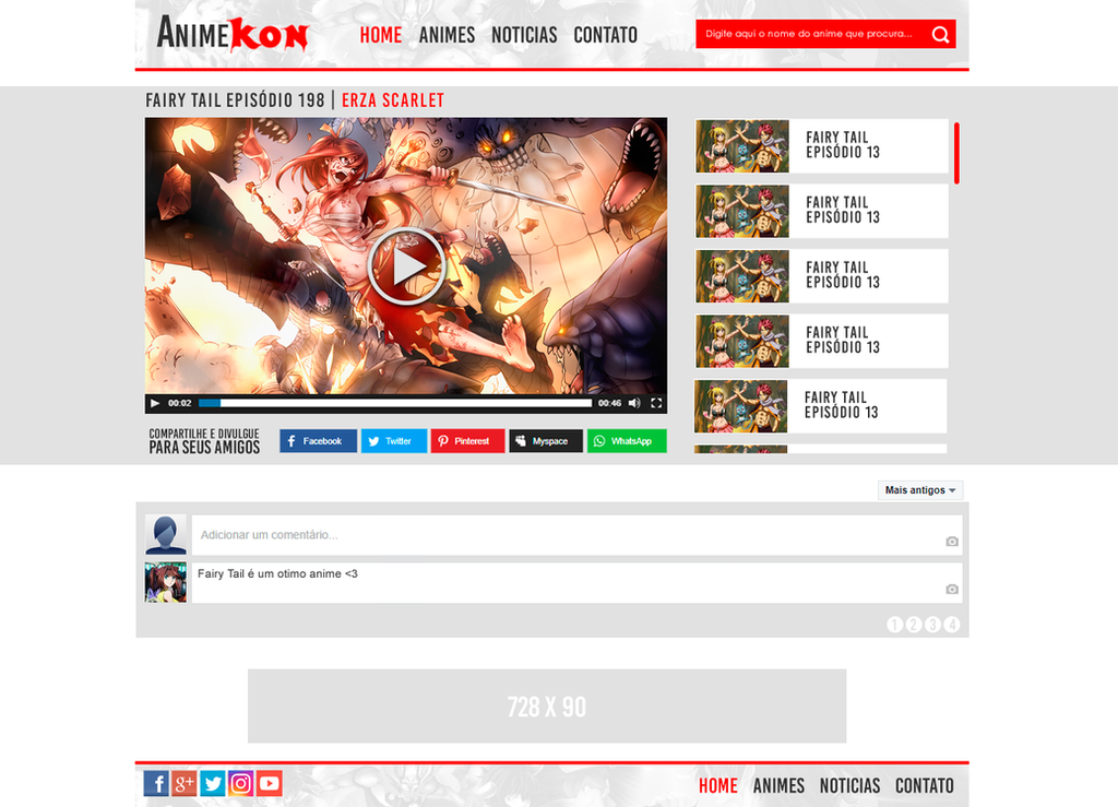 Animekon White 2.0 - Player by Mat1Oliveira