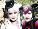 Kuromi and Hello Kitty