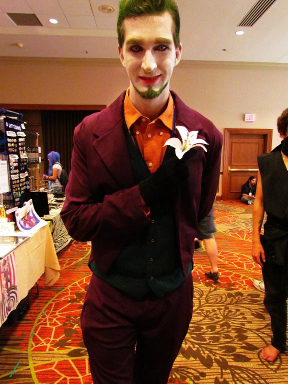 The Joker at A-kon 22 by clockworkcosplay