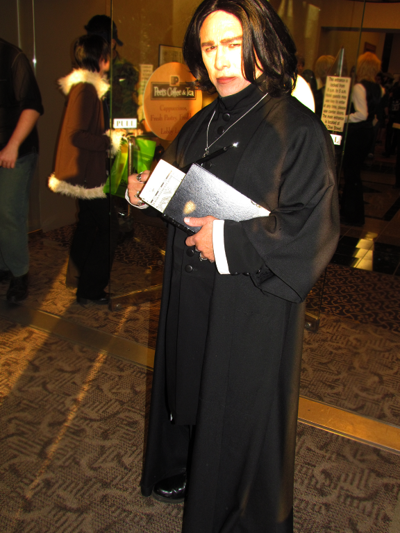 Professor Snape at A-kon 22 by clockworkcosplay