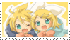 Rin and Len Stamp by RinLen0202