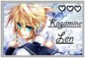 Kagamine Len Stamp by RinLen0202