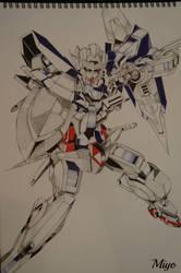 Gundam 00 by Miyo96